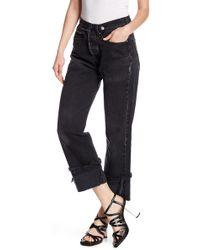 Kendall + Kylie - Vintage Safety Pin Jeans - Lyst