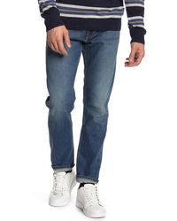 Vince Relaxed Slim Jeans - Blue