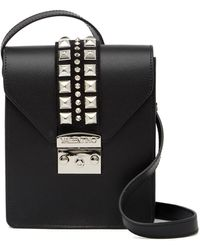 Valentino By Mario Valentino - Bridgette Leather Crossbody Bag - Lyst