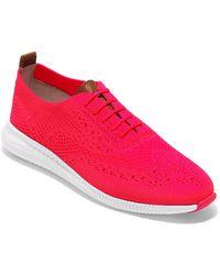 Cole Haan - 2.zeriogrand Stitchlite Wingtip Sneaker - Lyst