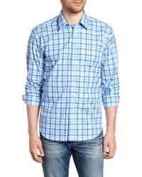 Jeremy Argyle Nyc - Slim Fit Check Sport Shirt - Lyst