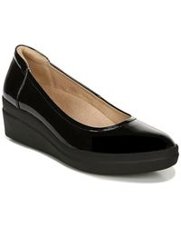 Naturalizer Sam Wedge Sneaker - Wide Width Available - Black