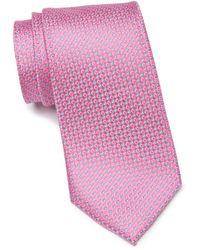 Calibrate Hannes Mini Silk Tie - Pink