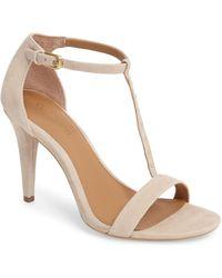 Calvin Klein - Nashra T-strap Sandal - Lyst