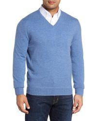 Monte Rosso - V-neck Cashmere Sweater - Lyst