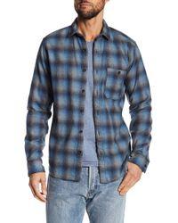 Jeremiah - Delta Brushed Crepe Plaid Shirt - Lyst