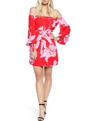 Bardot - Dariela Off The Shoulder Minidress - Lyst