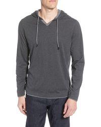 Robert Barakett Monterey Pullover Hoodie - Grey