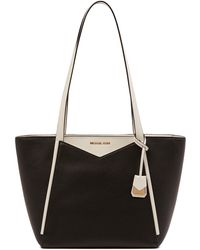 MICHAEL Michael Kors - Whitney Small Leather Tote - Lyst