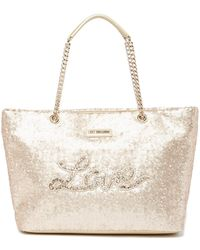 Love Moschino - Sequin Tote Bag - Lyst