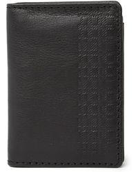 Boconi - Cason Leather Rfid L-fold Wallet - Lyst