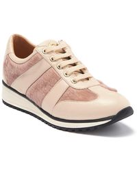 Longchamp Genuine Calf Hair & Leather Sneaker - Multicolor