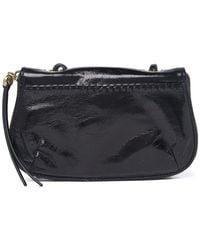 Hobo International Quill Leather Crossbody Bag In Black At Nordstrom Rack