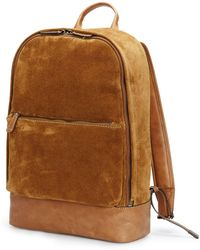 Frye | Chris Suede Backpack | Lyst