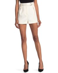 3.1 Phillip Lim Belted Military Origami Shorts - White