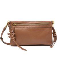 Frye - Carson Leather Wristlet Crossbody Bag - Lyst