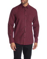 Nordstrom - Slim Fit Brushed Twill Sport Shirt - Lyst