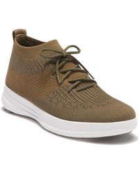 b6b559ed22f901 Fitflop - Uberknit Slip-on High Top Sneaker - Lyst