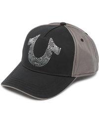True Religion - Digital Horseshoe Baseball Cap - Lyst