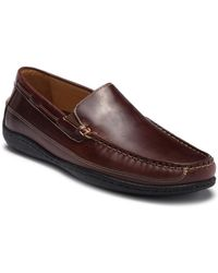 Johnston & Murphy - Fowler Leather Moc Toe Loafer - Lyst