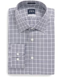 John W. Nordstrom - (r) Trim Fit Check Dress Shirt - Lyst
