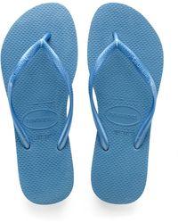Havaianas Slim Flip Flop - Blue