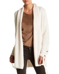 StyleStalker - Ribbed Day Break Cardigan - Lyst