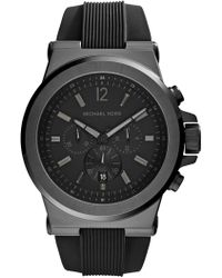 MICHAEL Michael Kors - Men's Black Watch - Lyst