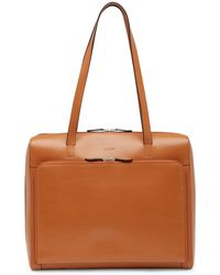Lodis - Audrey Full Zip Leather Computer Case - Lyst