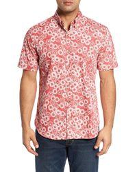 Reyn Spooner - Opihi Rock Regular Fit Print Sport Shirt - Lyst