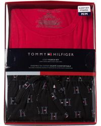 Tommy Hilfiger - Cozy Fleece Set - Lyst