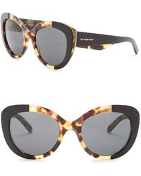 Burberry - 54mm Butterfly Sunglasses - Lyst