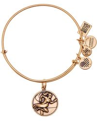 ALEX AND ANI - Team Usa Track & Field Expandable Wire Charm Bracelet - Lyst