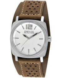 Kenneth Cole Reaction - Men's Perforated Quartz Watch, 40mm - Lyst