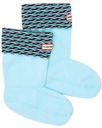 HUNTER - Original Cuff Knit Socks - Lyst