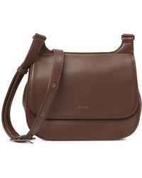 Matt & Nat - Luna Vegan Leather Saddle Bag - Lyst