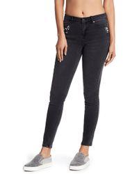 Philosophy Apparel - Embellished Skinny Jeans - Lyst
