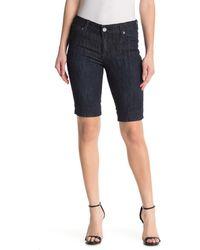 Kut From The Kloth Nicole Bermuda Shorts - Black