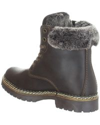 Pajar Panthil Faux Fur Trimmed Waterproof Boot - Brown