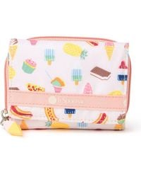 LeSportsac Reese Patterned Mini Wallet - Pink