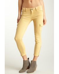 Level 99 - Lindsay Crop Cargo Jean - Lyst