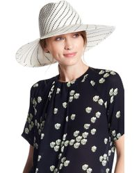 Ace of Something - Haliday Contrast Wide Brim Hat - Lyst