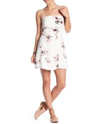 Honey Punch - Floral Mini Dress - Lyst