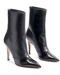 Schutz Carlee Pointed Toe Boot - Black