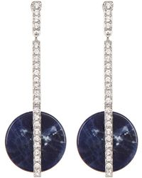 Swarovski - Crystal Drop Earrings - Lyst