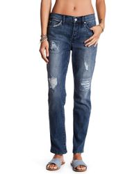 Level 99 - Morgan Slouchy Straight Leg Jean - Lyst
