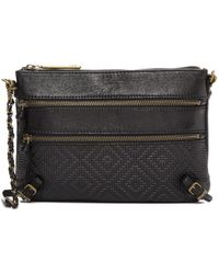 Elliott Lucca - Messina Leather Crossbody Bag - Lyst