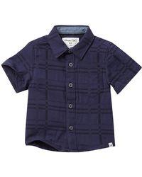 Sovereign Code - Lasso Short Sleeve Dress Shirt (baby Boys) - Lyst