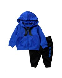 eab51ffd2 Lyst - Calvin Klein Baby Boys Sherpa Logo Dot Onesie in Blue for Men