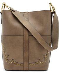 Frye - Ilana Western Leather Bucket Bag - Lyst